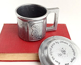 Pewter Baby Cup Etsy