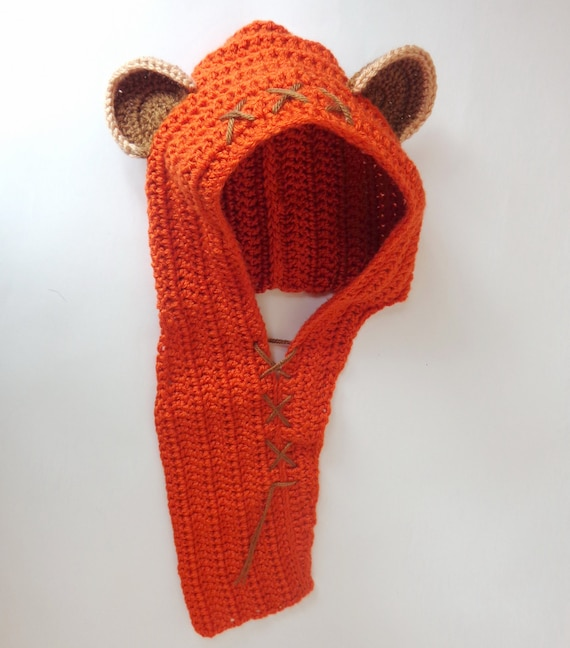 Ewok Baby Hat Or Hood Costume From Star Wars For Girl Newborn