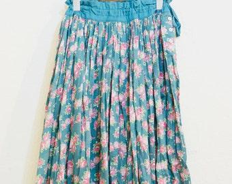 Floral Maxi Skirt (028)