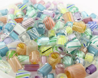 1 oz Pastels ~ Furnace Art Glass Beads