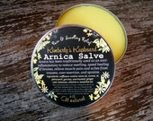 Arnica Salve with Nettle, Rosemary and Mint for Bruises, Swelling, Sprains, Muscle Pain and Arthritis Relief
