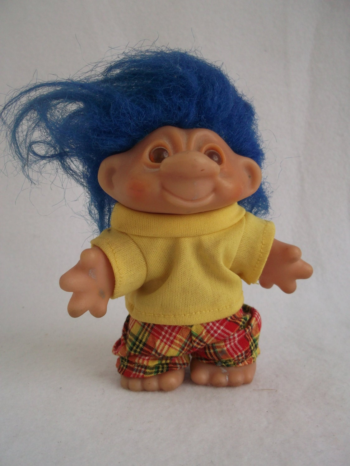 80s Toy Dolls : Troll doll toy from the s by pompastoycollection on etsy