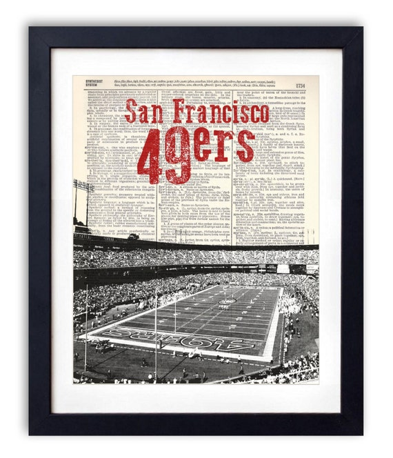 Items similar to san francisco 49ers stadium with name 2 for Buy reclaimed wood san francisco