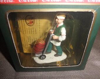 """Coca Cola Town Square """"Soda Jerk"""". In Original Box 1992"""