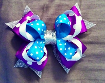 Bow for Frozen Birthday Outfits