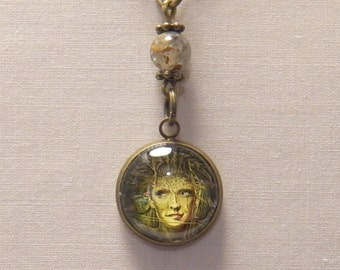 Woodland Faerie With Pietersite Pendant Necklace