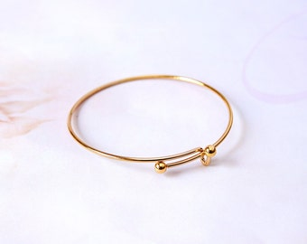 DIY Golden bracelet, bracelet kit