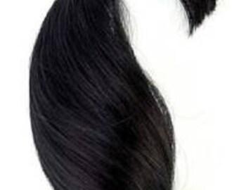 1/4 oz Black Curve #BD0006M1 NuBorn Mohair for Rooting Dolls Reborn Supply 8687