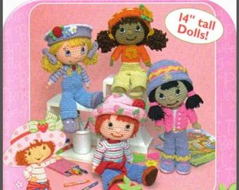 Strawberry shortcake doll crochet patterns