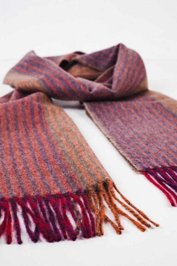 wool scarf wool scarves baby alpaca wool striped scarf