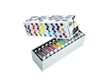 Acrylic Paint Tube 48 Piece Set, Colorful Paint Set For Art Students In Class, Great Assortment Of Acrylic Paint Colors For Painting Or Gift