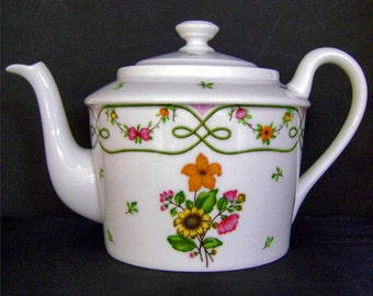 Ceralene 'Guirlandes' Tea Pot