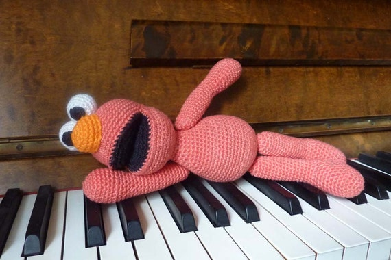 Elmo Doll Knitting Pattern : Crochet Elmo pattern