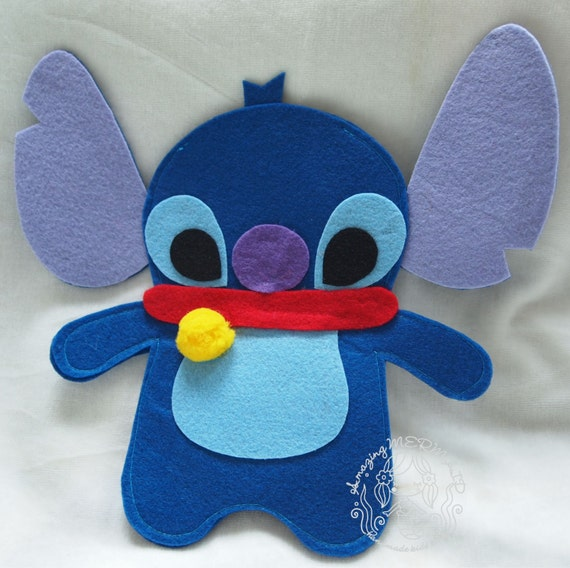 items similar to disney stitch and lilo felt photo frame on etsy