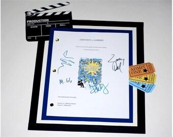 500 Days of Summer Movie Script Signed Screenplay Autographed: Joseph Gordon-Levitt, Zooey Deschanel, Minka Kelly, Matthew Gray Gubler