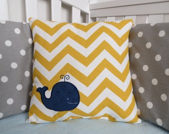 Whale Pillow Etsy