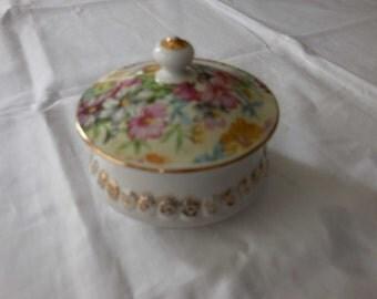 Petite Porcelain Trinket Box