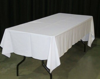 Table Cloth Cover Rental Quality, Rectangle, 56-inch x 110-inch