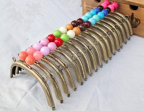 2pcs 16cm purse frame purse clasp clutch frame metal purse frame purse making supplies. Black Bedroom Furniture Sets. Home Design Ideas