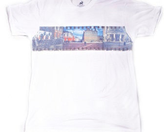 Brixton, Limited edition T-shirt with art print