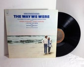 The Way We Were Soundtrack vinyl record Barbra Streisand Marvin Hamlisch