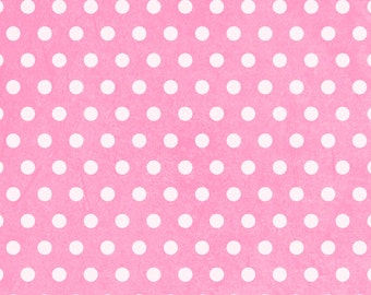 Photography Backdrop - POLKA DOT GRUNGE - 3 colors - Blue - Pink - Orange - Printed grungy dot pattern background