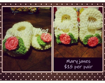 Mary-Jane booties
