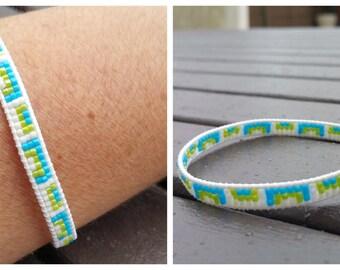 Wrap 1 row bracelet,