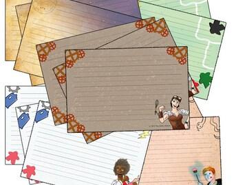 Full Set of Recipe Cards