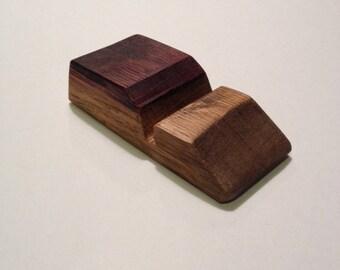 Business Card Holder - Wine Barrel Stave