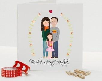Printable- Custom Portraits -Wedding -Invitation- art-print