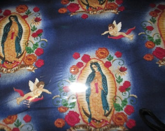 Lady of Guadalupe cotton fabric by Robert Kauffman