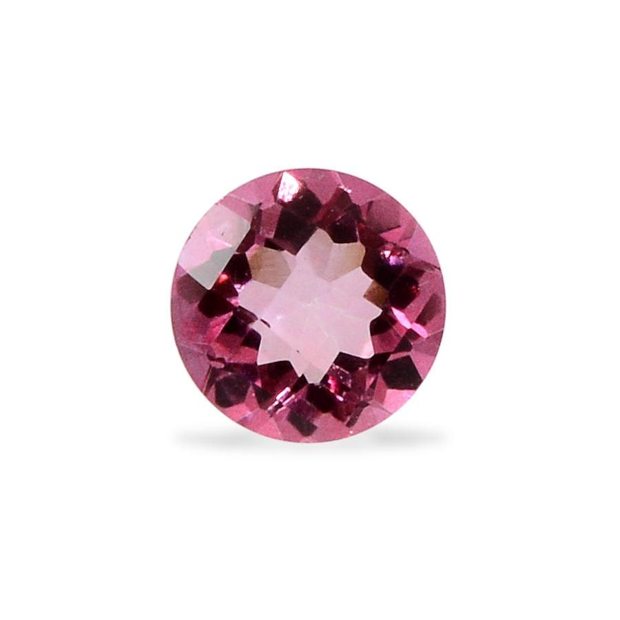 mystic pink topaz cut gemstone 1a quality 6mm tgw