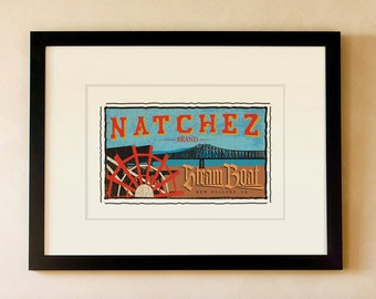Natchez River Boat - Louisiana
