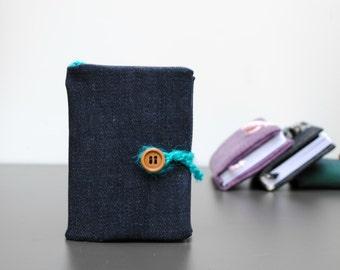 Handmade mini Journal, Denim Journal, mini Notebook, Small Notebook, egst.