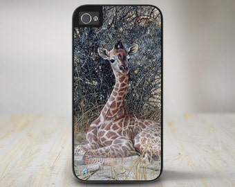 "Giraffe iPhone 5s Case, Giraffe iPhone 5 Case, Giraffe iPhone Case Protective Giraffe Phone Case ""Hidden Treasures"" 50-7517"