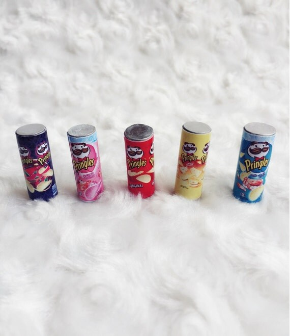 Miniature Pringles Potato Chips Package for Doll's house Collection