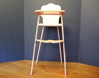 Metal Doll high chair