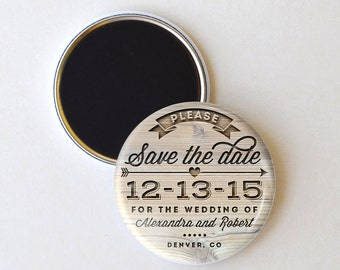 Save the Date Magnet - Save the Date - Wedding Save the Date Magnet - Wedding Save the Date