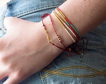 Wish Bracelet, Friendship Bracelet, Best Friend Gift, Friendship Beaded Bracelets, Dainty Bracelet, Friendship Jewelry