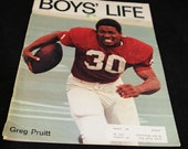 Hey Oklahoma Sooners, Hey Former Big 8 Football Fans Boys' Life Magazine 1972 Greg Pruitt Cover -  Boy Scouts Collectible Too   #50