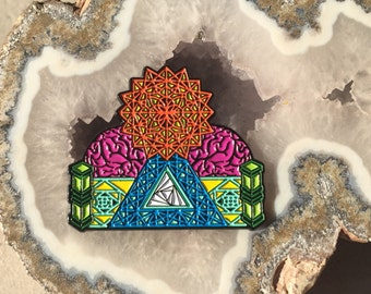 Tipper Festival Hat Pin