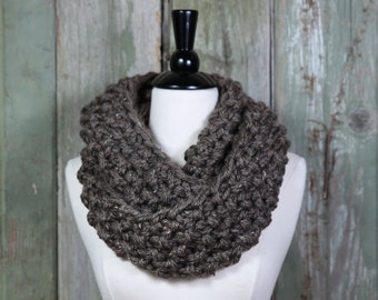 PATTERN - Outlander Inspired Cowl, Chunky Infinity Scarf, Neck Warmer
