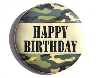 Camouflage Birthday Etsy
