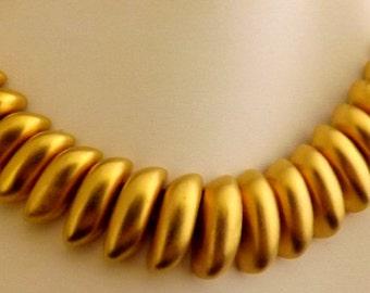 Goldtone Choker Necklace