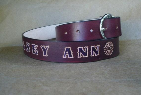 custom western belts best leather belt 1 5 inch by