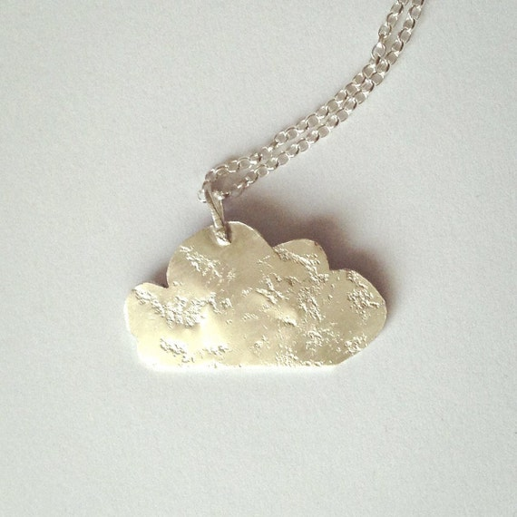 Silver Cloud Necklace - Recycled Sterling Silver