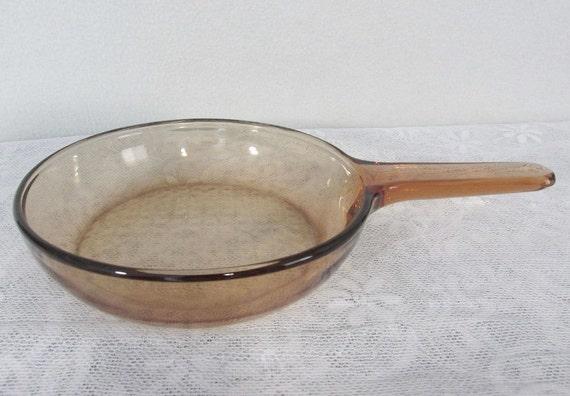 Vision Corning Ware 7 Fry Pan Skillet Waffle Bottom