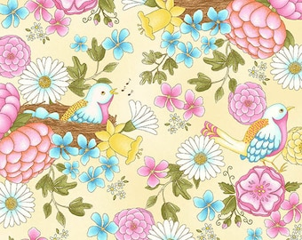 Henry Glass Fabrics, designed by Jacquelynne, Steves, Peaceful Pastimes 9766 44