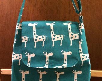 Trendy Tote -  Diaper- Shopping - Beach Bag